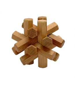 WOOD PUZZLE OBJECT    :   OAK