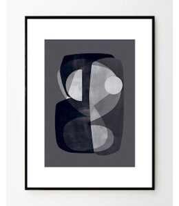 'ABSTRACT CONSTRUCTION' ATELIER CPH PRINT : FRAMED