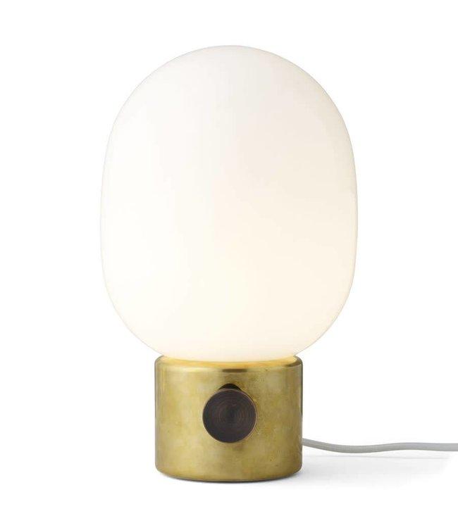 JWDA POLISHED BRASS TABLE LAMP