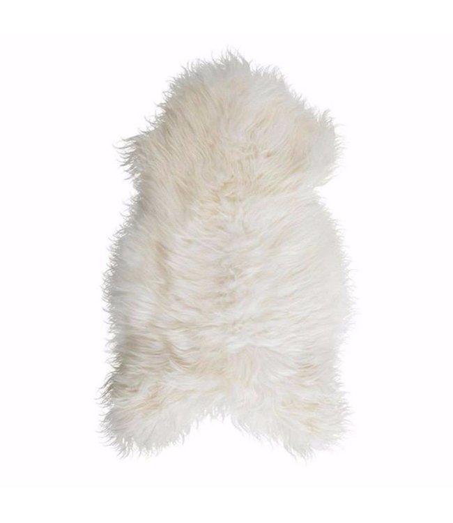 NATURAL ICELANDIC SHEEPSKIN   :   WHITE