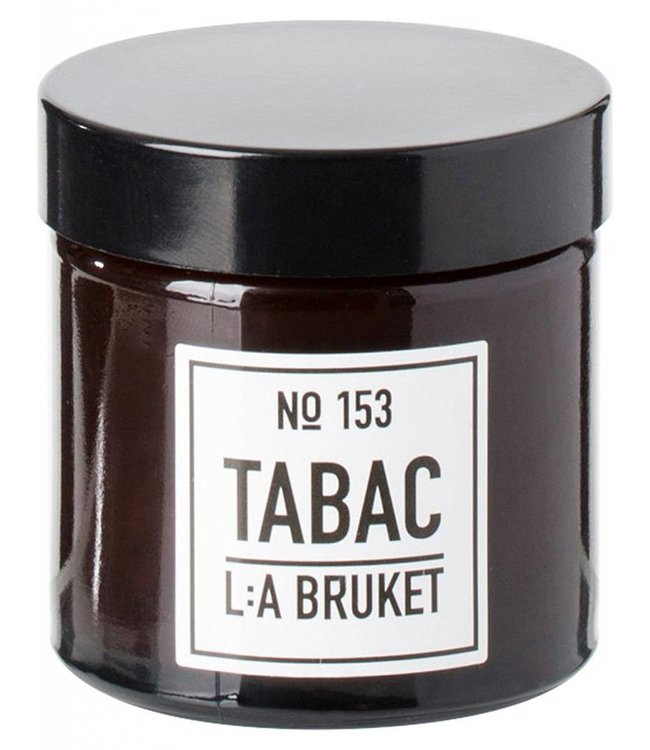 LA BRUKET SMALL SCENTED CANDLE  :   TABAC