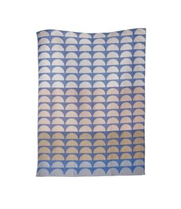 BRIDGES TEA TOWEL   :   BLUE