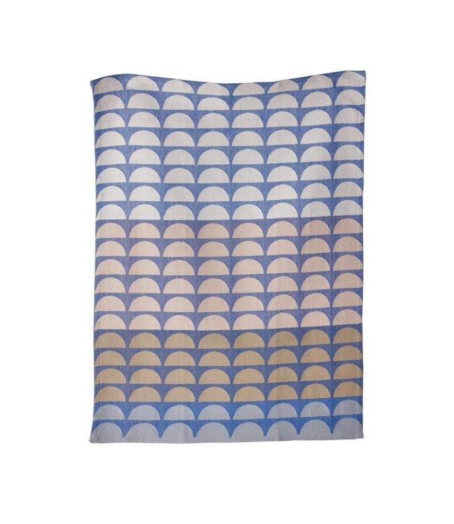 BRIDGES TEA TOWEL   :   BLUE