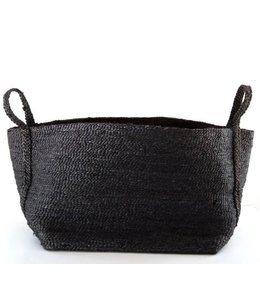 LARGE JUTE CHARCOAL BASKET