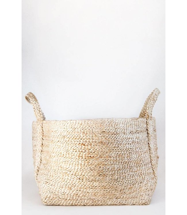 SMALL JUTE NATURAL BASKET