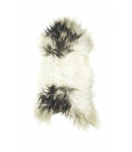 NATURAL ICELANDIC SHEEPSKIN   :   SPOTTED