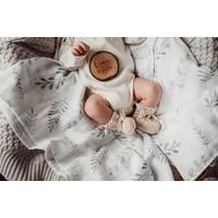 Organic muslin blanket - Fern