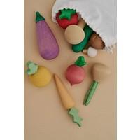 Légumes en bois