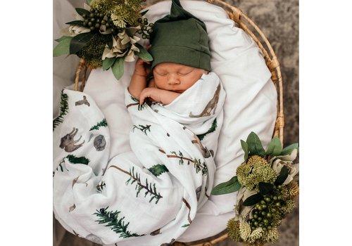 SNUGGLE HUNNY KIDS Organic muslin blanket - Alpha