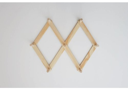 MINIKA Wooden peg rack - Small