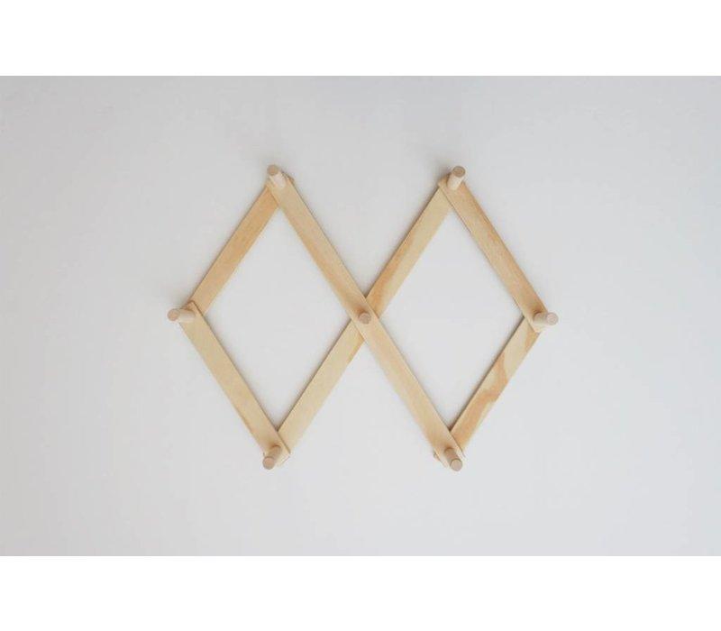 Wooden peg rack - Small