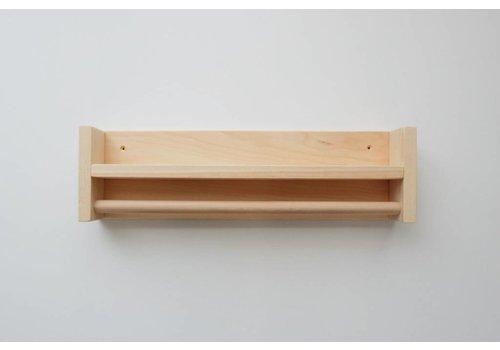 MINIKA Étagère en bois - rolling
