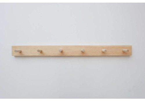 MINIKA Wooden peg rail - 6 hooks