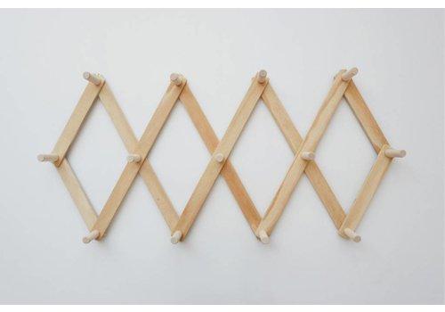 MINIKA Wooden peg rack - XLarge