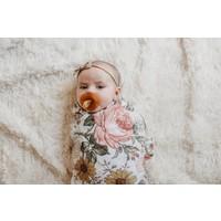 Muslin swaddle - Garden floral