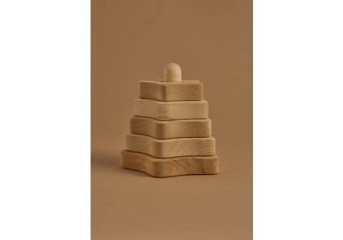 RADUGA GREZ Star stacking tower natural