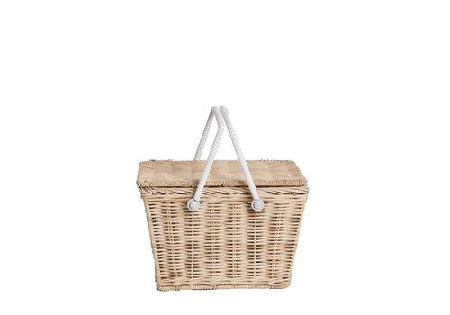 OLLI ELLA Piki basket - Straw / PRE-ORDER