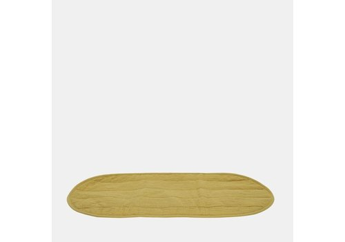 OLLI ELLA Changing basket - luxe organic cotton insert - Mustard