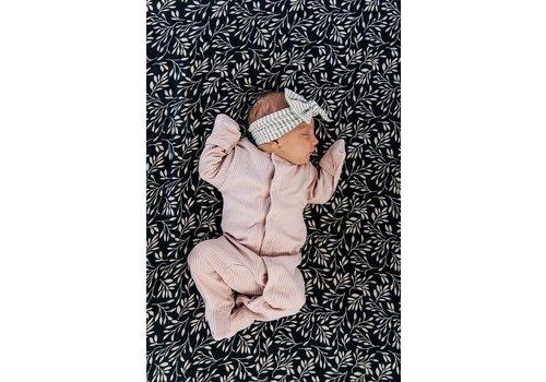 MEBIE BABY Pyjama côtelé - Pétale de rose