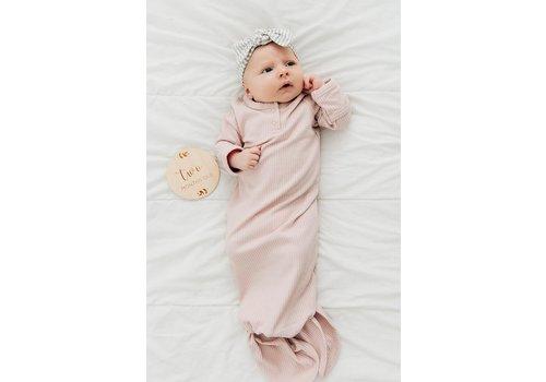 MEBIE BABY Dormeuse côtelée - Pétale de rose