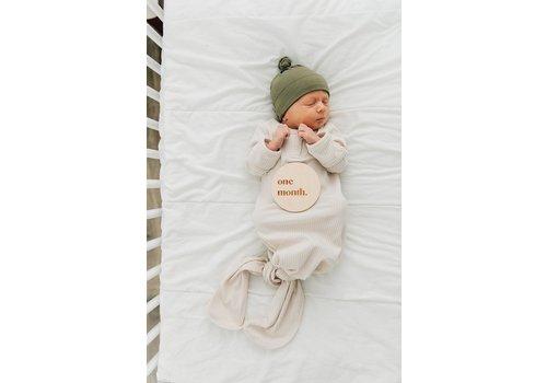 MEBIE BABY Dormeuse côtelée - Vanille