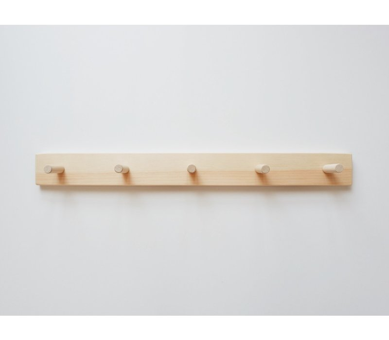 Peg rail - 5 hooks