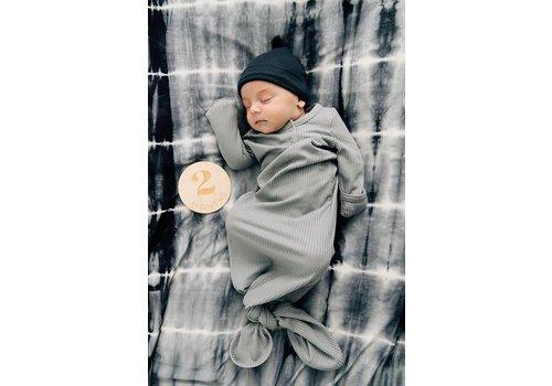 MEBIE BABY Dormeuse côtelée - Grise