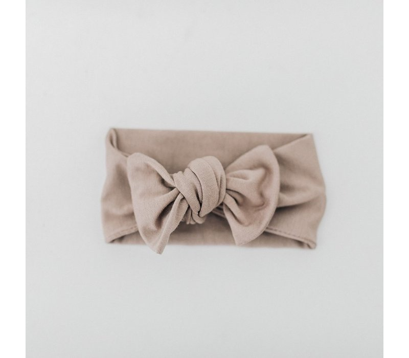 Taupe headband