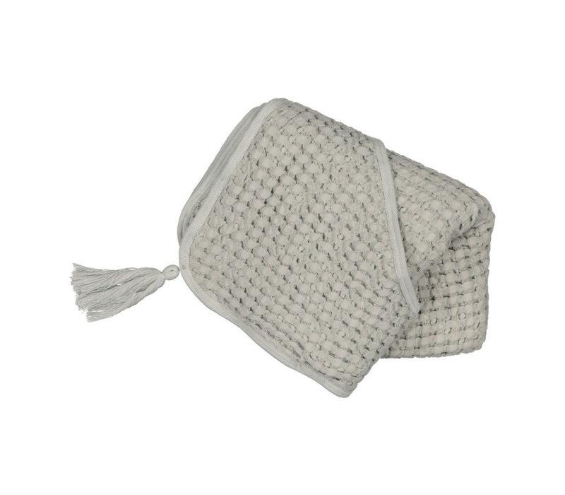 Hooded towel - Almond