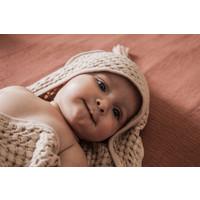 Hooded towel - Brick
