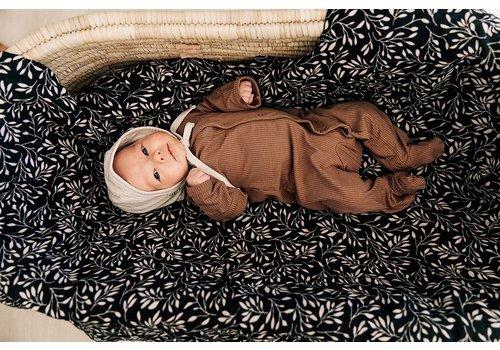 MEBIE BABY Pyjama côtelé - Cocoa
