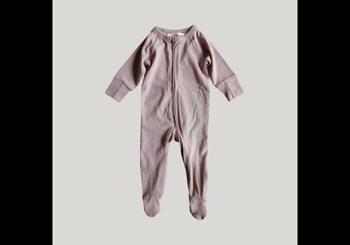 SUSUKOSHI Pyjama à zip - Lilac