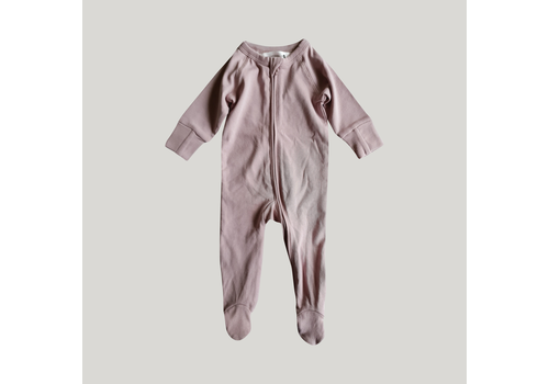 SUSUKOSHI Zip growsuit - Lilac