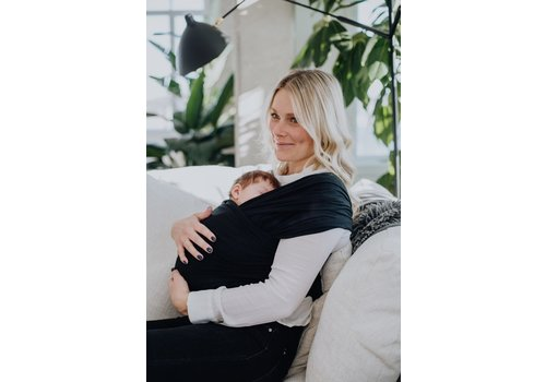 ZAK & ZOÉ Bamboo baby carrier wrap - Black