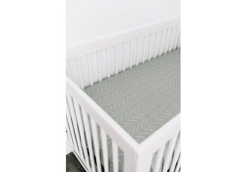MEBIE BABY Sauge crib sheet