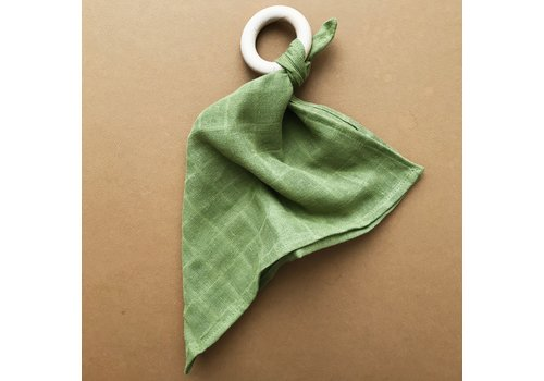MINIKA Comforter teether  - Olive