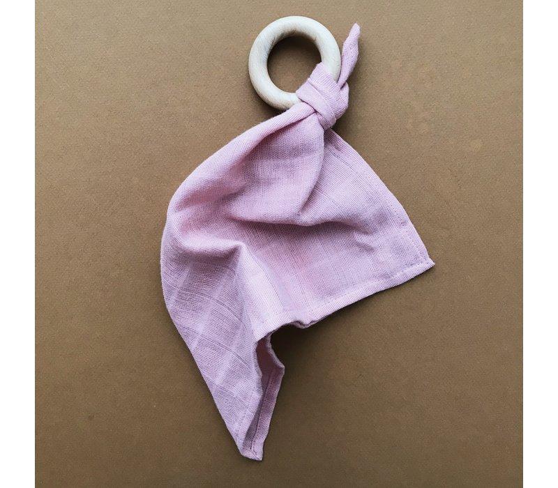 Comforter teether  - Rose