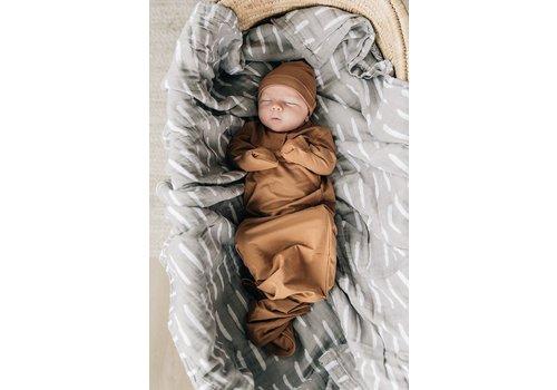 MEBIE BABY Mustard gown