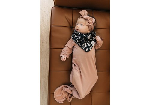 MEBIE BABY Dusty rose gown