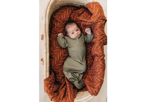 MEBIE BABY Dormeuse - Olive