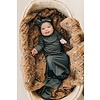 MEBIE BABY Charcoal gown