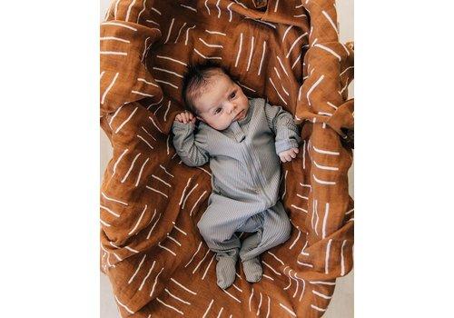 MEBIE BABY Pyjama à zip - Gris