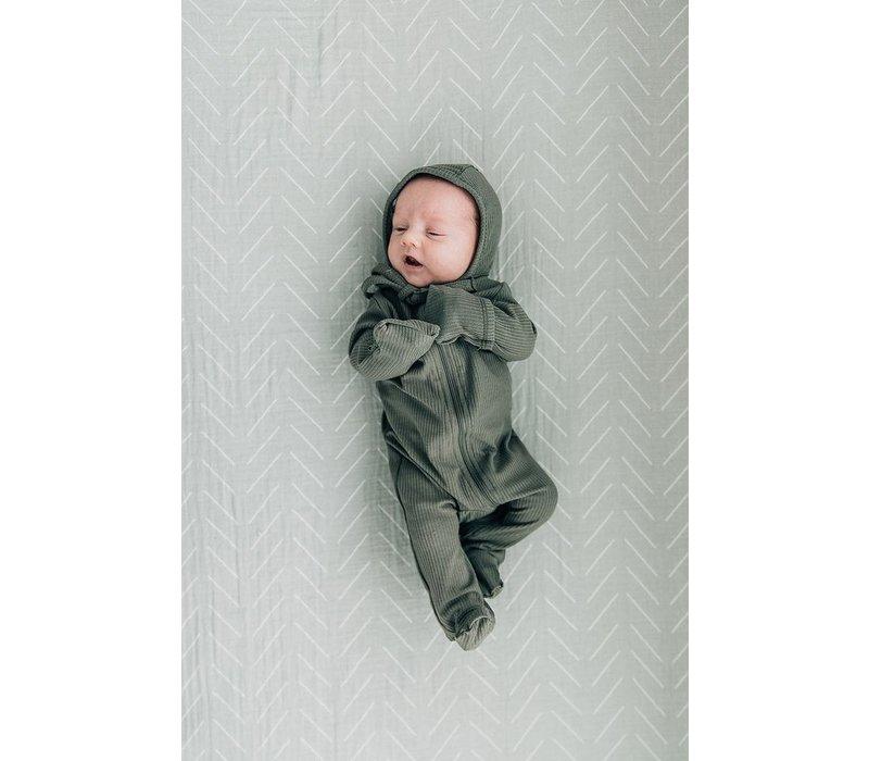 Pyjama à zip - Fern