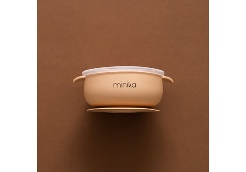 MINIKA Silicone bowl - Natural