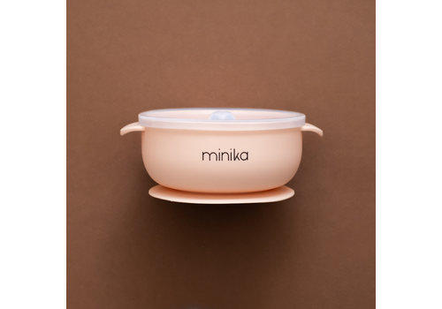 MINIKA Silicone bowl - Blush