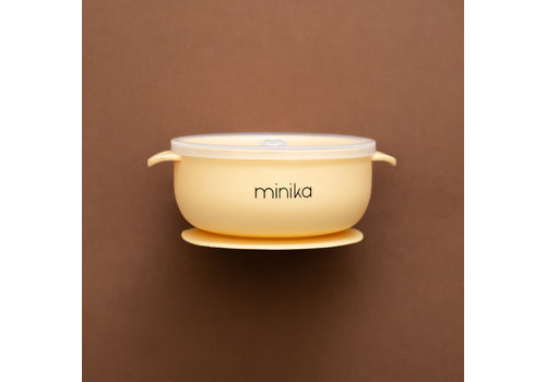 MINIKA Silicone bowl - Banana