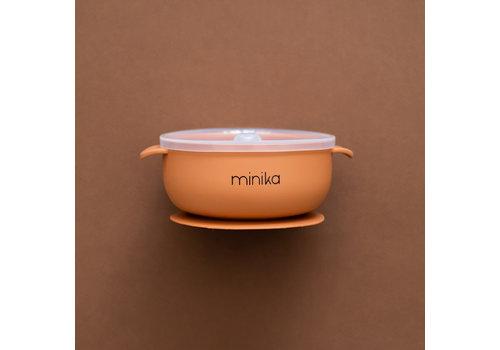MINIKA Silicone bowl - Ginger