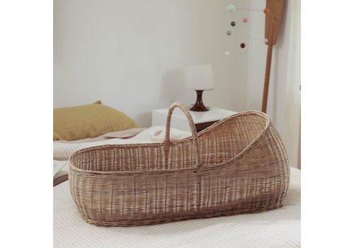 OLLI ELLA Lyra moses basket - With mattress