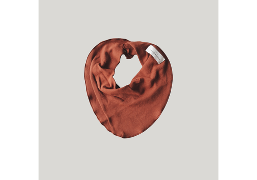 SUSUKOSHI Bib - Burnt Orange