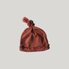 SUSUKOSHI Knotted hat - Burnt Orange